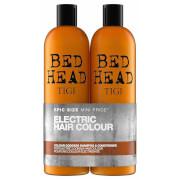 TIGI Bed Head 色彩女神精油洗发水 + 护发素 2 x 750ml   适合染色发质