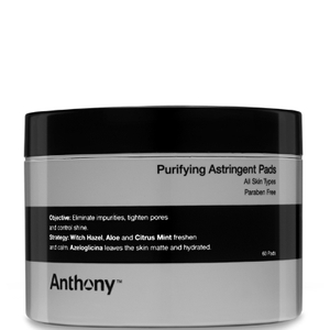 Anthony Astringent Oil Control Toner Pads