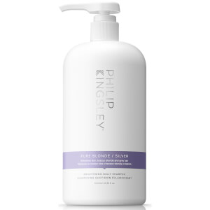 Philip Kingsley Pure Silver Shampoo(1000 ml) - (价值68.00 英镑)