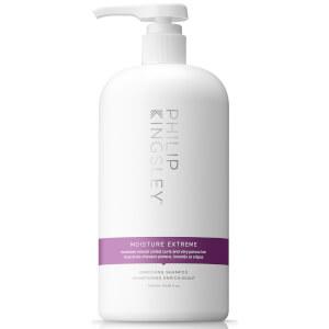 Philip Kingsley Moisture Extreme Shampoo(1000 ml) - (价值 85.00 英镑)