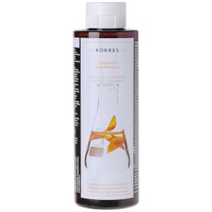 Korres  向日葵和山茶 洗发水适合染过色的发质