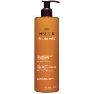 Nuxe 蜂蜜洁面身体清洁凝胶(400ml)
