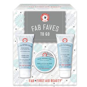 First Aid Beauty明星产品旅行装