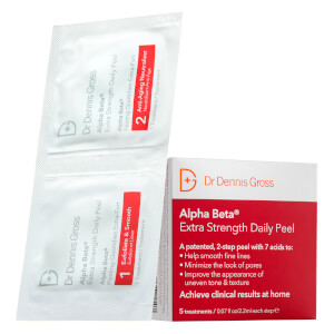 Dr Dennis Gross Skincare Alpha Beta Extra Strength Daily Peel (5片装)