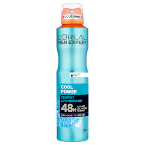 巴黎欧莱雅Men Expert Cool Power 48 Hour Anti-Perspirant 250ml