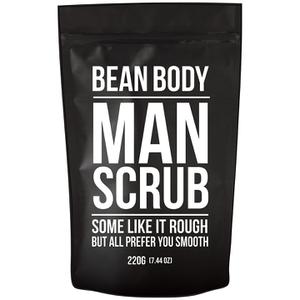 大豆咖啡豆身体磨砂膏 220g——男士磨砂膏