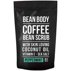 大豆咖啡豆身体磨砂膏 220g——胡椒薄荷