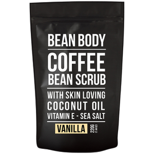 大豆咖啡豆身体磨砂膏 220g——香草
