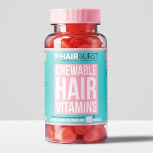 Hairburst 草莓口味维生素咀嚼胶囊 | 60 粒装