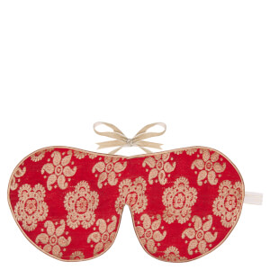 Holistic Silk 真丝眼罩+脚套礼品套装| 红色 多尺码可选