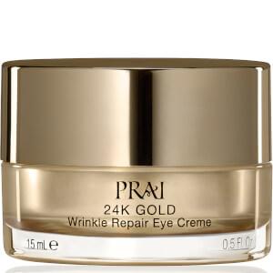 PRAI 24K 金系列祛皱修复眼霜 15ml