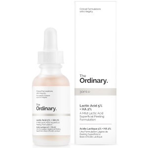 The Ordinary 5% 乳酸 + 2% 透明质酸去角质精华 30ml