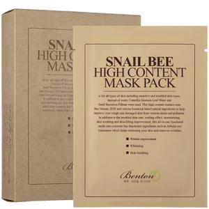 Benton 蜗牛蜂毒高含量面膜组 10 片装