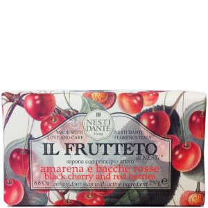 Nesti Dante 芳菲果园系列手工皂 250g | 黑樱桃和红莓