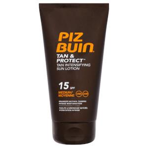 Piz Buin 美黑防晒系列助晒乳   中度 SPF15 150ml