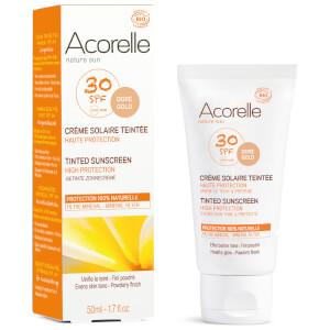 Acorelle 有机系列带色防晒霜 50ml   金黄色泽 SPF30