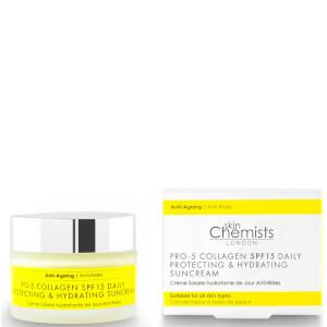 skinChemists Pro-5 胶原蛋白日常抗衰老防护和保湿防晒霜 50ml | SPF15