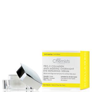 skinChemists Pro-5 胶原蛋白抗衰老夜间眼部修复精华 15ml