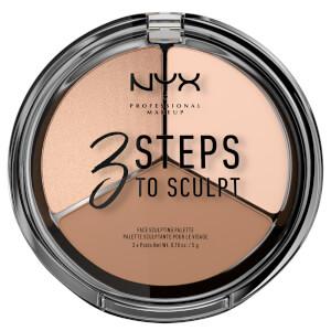 NYX 三步塑颜彩妆盘 | 白皙