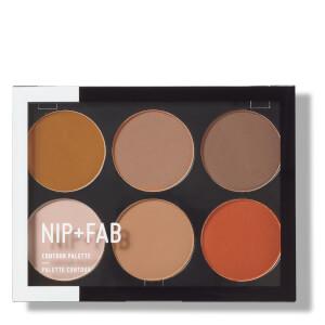 NIP + FAB Make Up 修容色盘 - 深色系