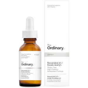 The Ordinary 3% 白藜芦醇精华 + 3% 阿魏酸