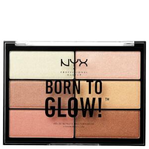NYX Born to Glow 珠光提亮彩妆盘