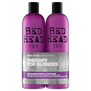 TIGI Bed Head 金发修复洗发水与护发素两件套 2 x 750ml | 针对染色头发
