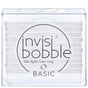 invisibobble Basic The Light 发圈 - Crystal Clear 透明色 | 10 个装