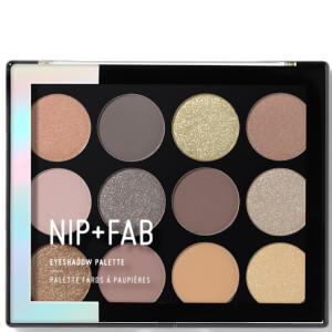 NIP + FAB Make Up 眼影盘 12g | 冷调中性色