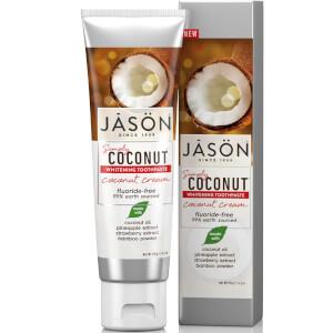 JASON 椰浆亮白牙膏 119g