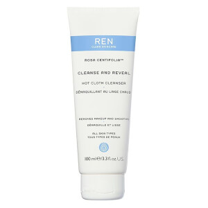 REN Clean Skincare Rosa Centifolia Cleanse and Reveal Hot Cloth Cleanser 100ml
