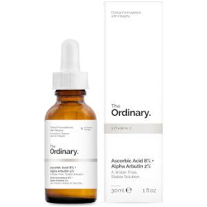 The Ordinary 8% 抗坏血酸 + 2% 熊果苷精华