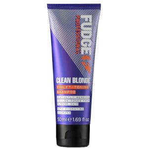 Fudge 净色洗发水 50ml | 金色头发适用
