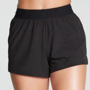 Energy 女士运动短裤 - 黑