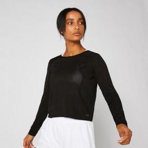 Dry-Tech 速干系列 女士长袖上衣 - 黑