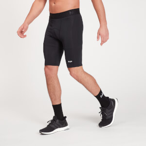 Base 男士紧身短裤 - 黑