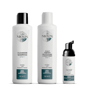 NIOXIN 护发三部曲试用套装 2 | 比较稀疏的自然发质