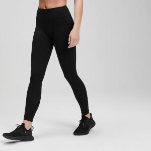 Power 力量系列 女士紧身健身裤 - 黑色