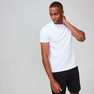 MP男士Luxe系列经典T恤 - 白