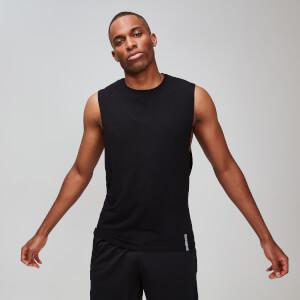 MP男士Luxe系列经典款砍袖背心 - 黑