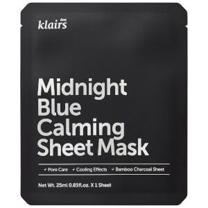 Dear, Klairs 午夜蓝片状舒缓面膜 25ml