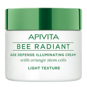 APIVITA 蜜蜂焕采系列抗老亮肌面霜 50ml | 轻盈质地