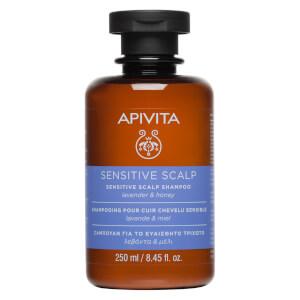 APIVITA 全面护发系列敏感头皮洗发水 250ml | 薰衣草和蜂蜜
