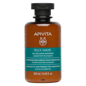 APIVITA 全面护发系列水油平衡洗发水 250ml | 薄荷和蜂胶