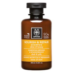 APIVITA 全面护发系列滋养修复洗发水 250ml | 橄榄和蜂蜜
