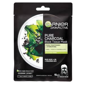 Garnier 黑炭和水藻片状保湿面膜