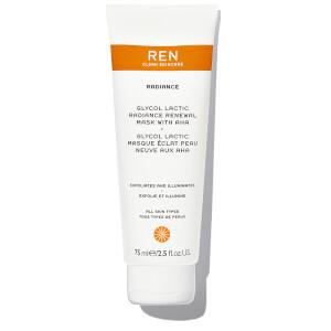 REN Supersize Glycol Lactic Radiance Renewal Mask 75ml