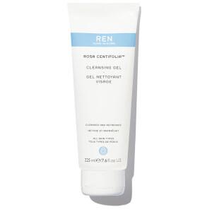 REN Clean Skincare Supersize Rosa Centifolia Cleansing Gel 225ml