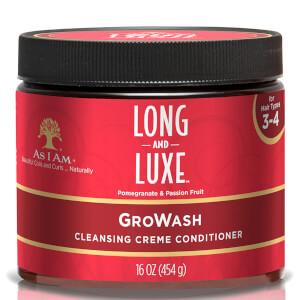 As I Am 纤长奢华系列 Gro Wash 清洁护发乳 454g