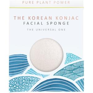 魔芋海绵基本元素系列洁面海绵 | 水 | 100% 纯白 30g